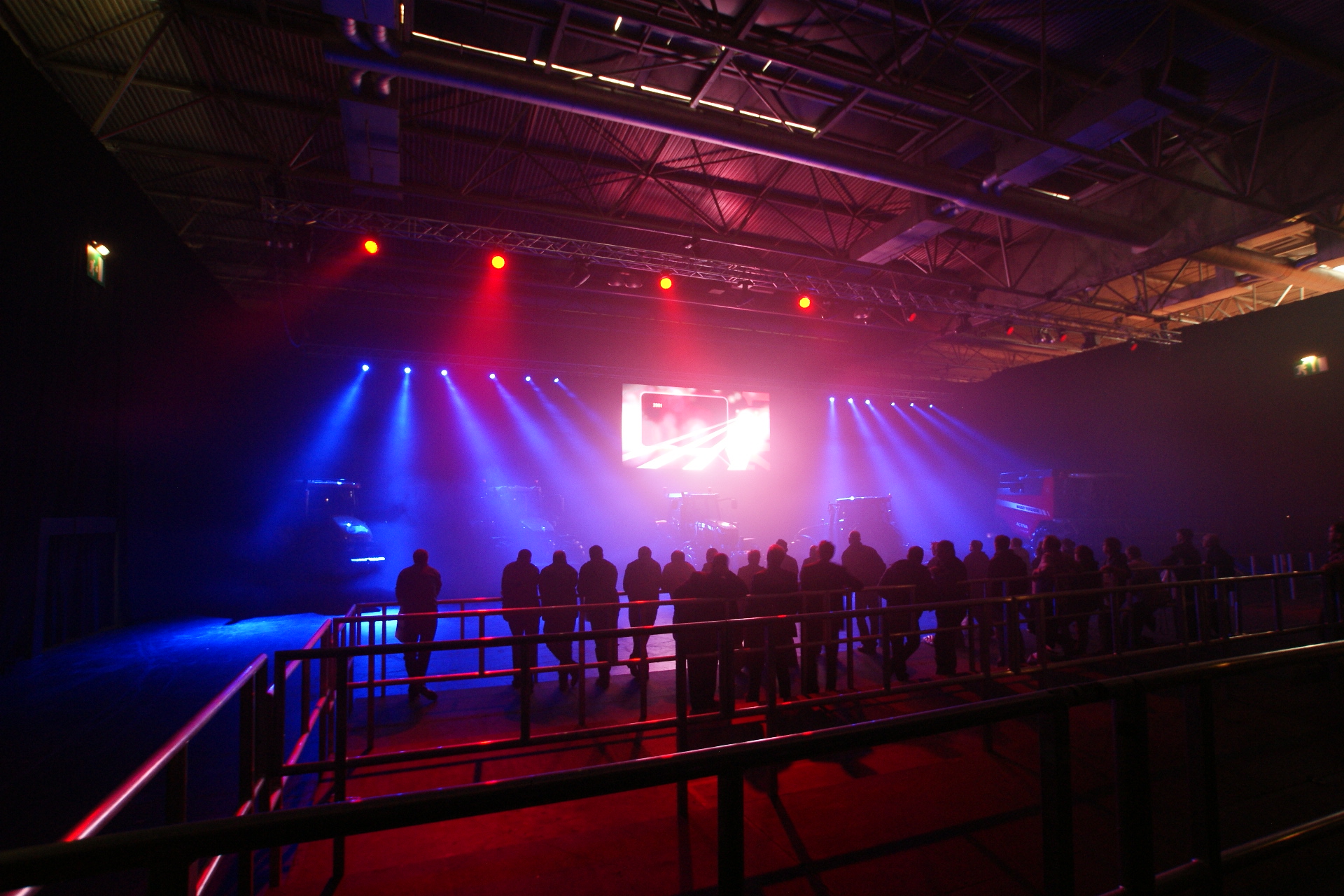 Discover AGCO show 2014 - sound lighting video staging production