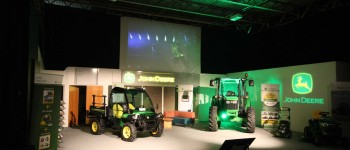 John Deere Product Launch 2014 (1) - lighting sound graphics production