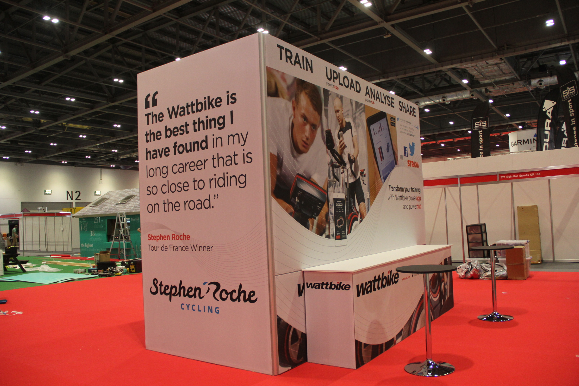 Exhibition Stall Case Study : Wattbike at ridelondon case study onebigstar