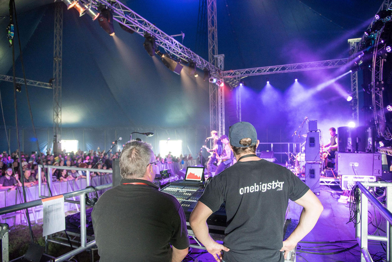 OneBigStar Glastonbudget Festival Technical Production