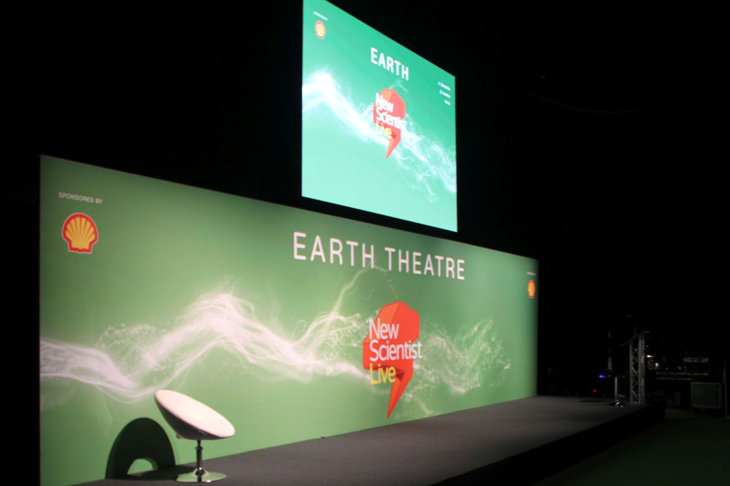 OneBigStar New Scientist Live Earth Theatre Exhibition Features & Theatres