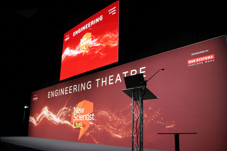 OneBigStar New Scientist Live Engineering Theatre Exhibition Features & Theatres