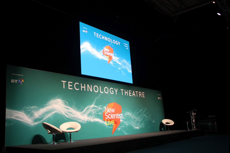 OneBigStar New Scientist Live Technology Theatre Exhibition Features & Theatres