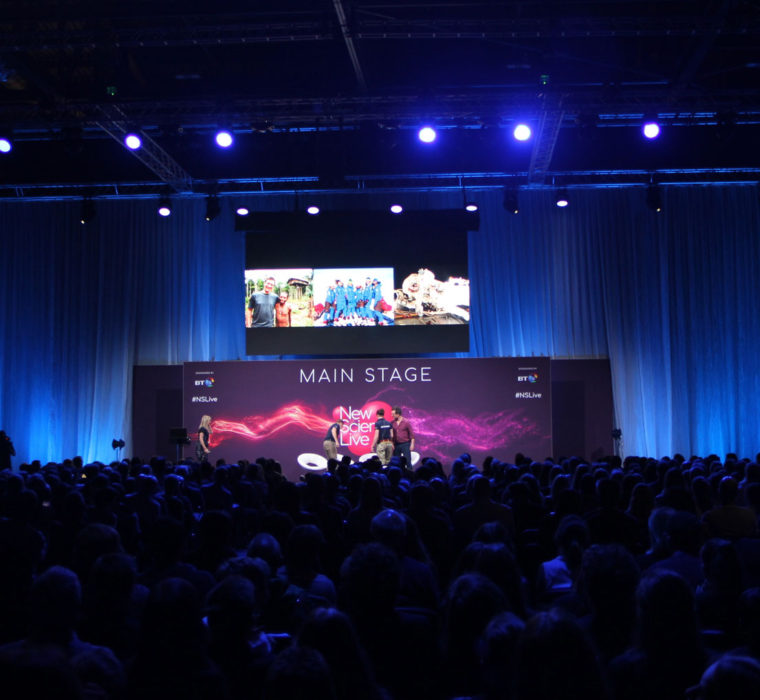 OneBigStar New Scientist Live Main Stage Exhibition Features & Theatres