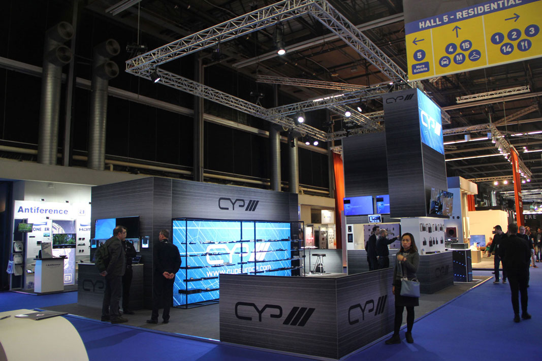 OneBigStar ISE CYP Exhibition Stand Design & Build