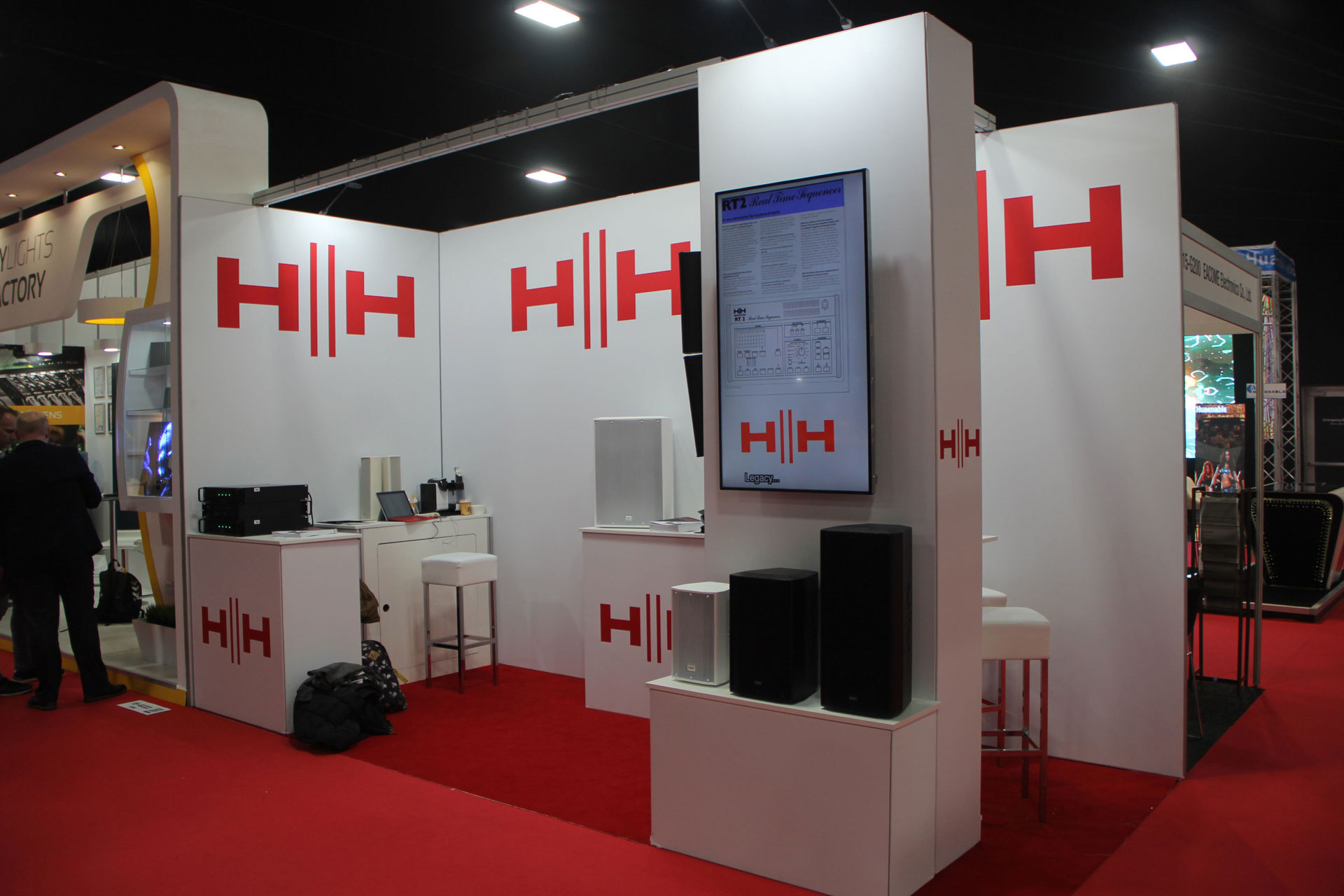 OneBigStar ISE HH Electronics Exhibition Stand Design & Build
