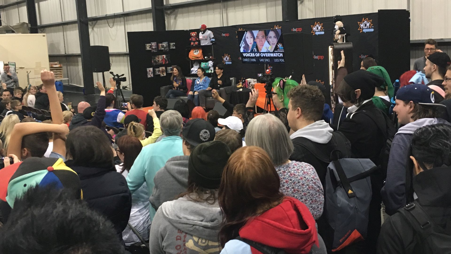 OneBigStar MCM London Comic Con May 2019 Exhibition Features Full Production