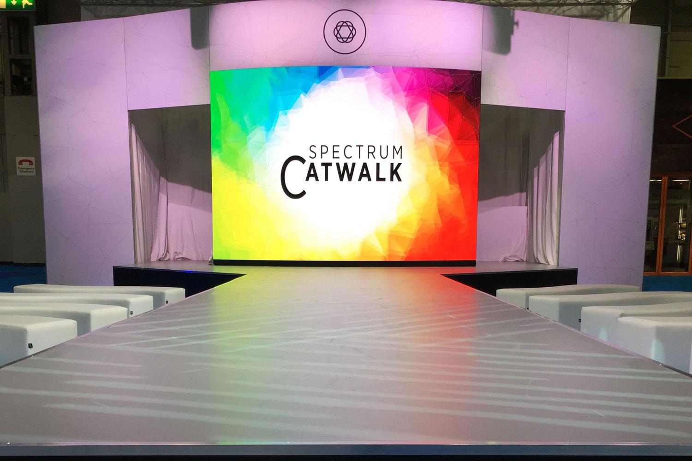 OneBigStar Optrafair Spectrum Catwalk Uploaded ToTrade Show Features & Catwalk