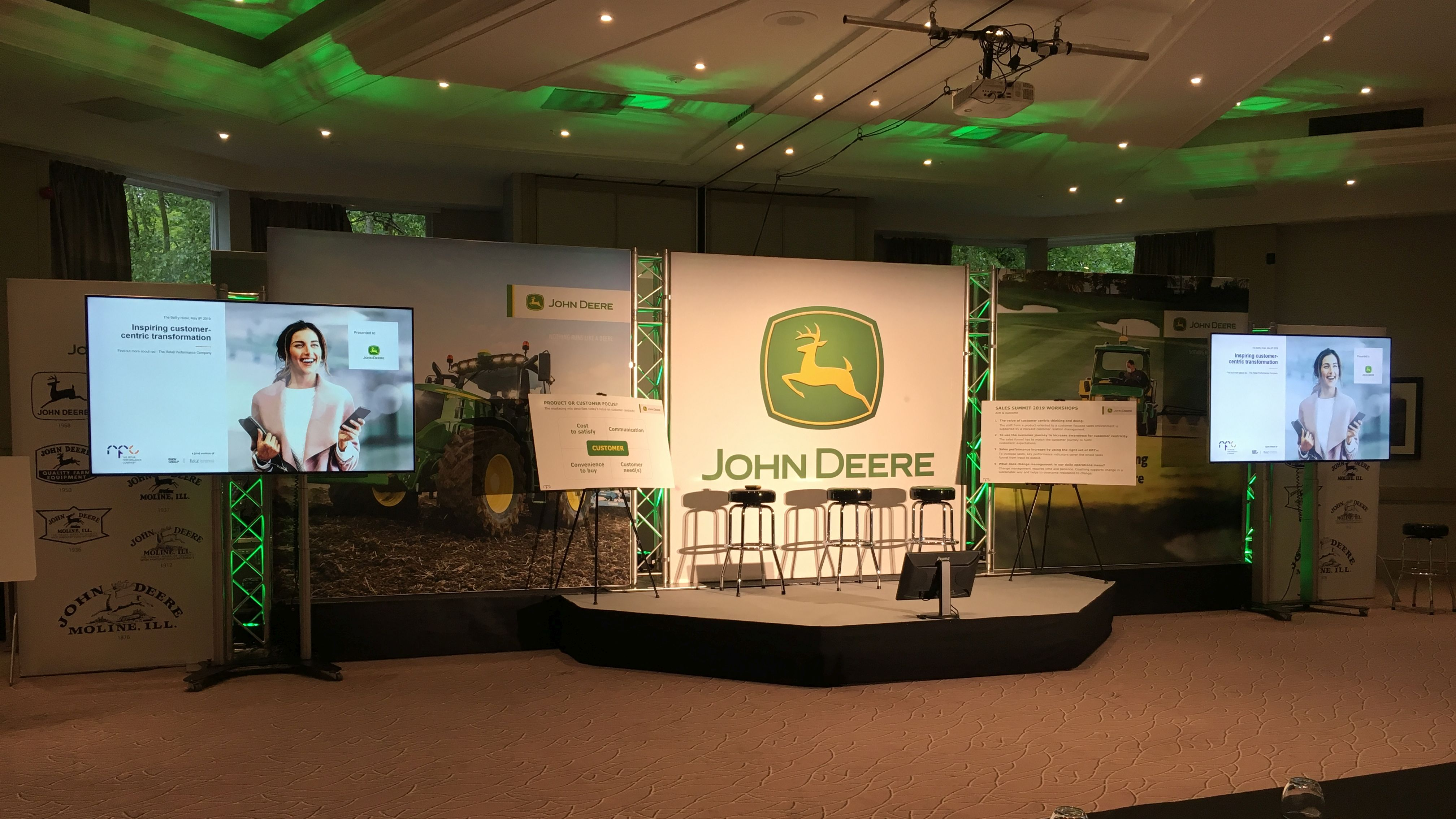 OneBigStar John Deere Sales Manager Summit at The Belfry 2019 Conference