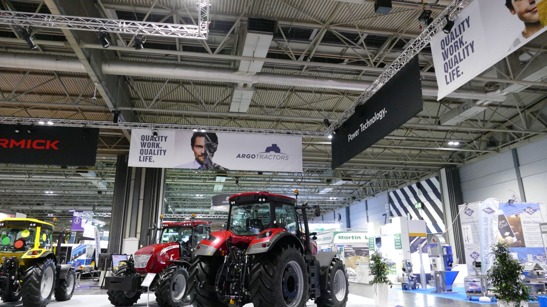 OneBigStar Large Scale Indoor Exhibition Stand LAMMA 2019