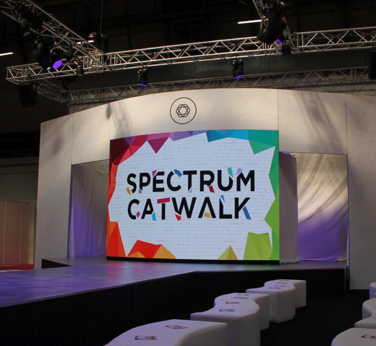 OneBigStar Optrafair Spectrum Catwalk 2019 Trade Show Features & Catwalk