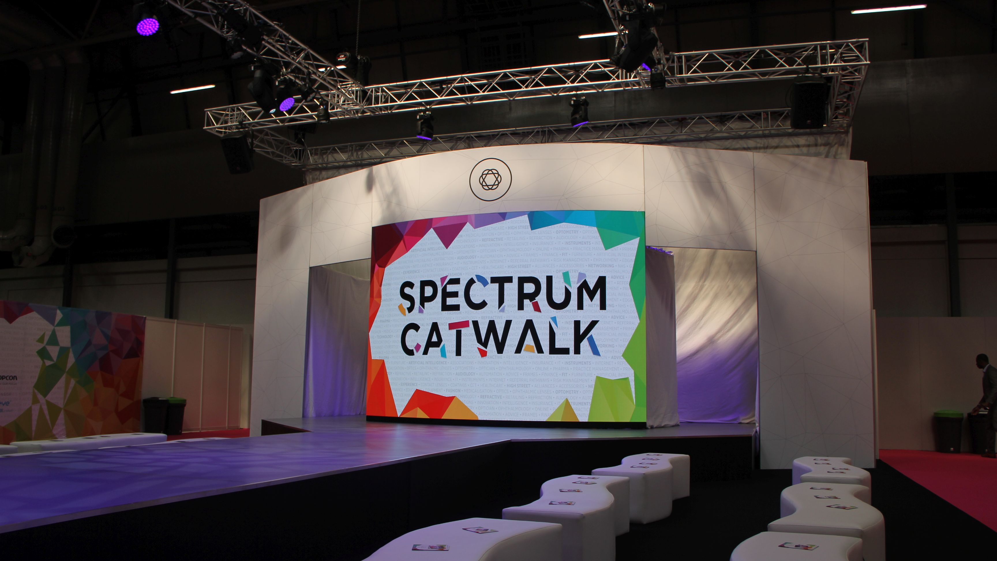 OneBigStar Optrafair Spectrum Catwalk 2019 Trade Show Features & Catwalk