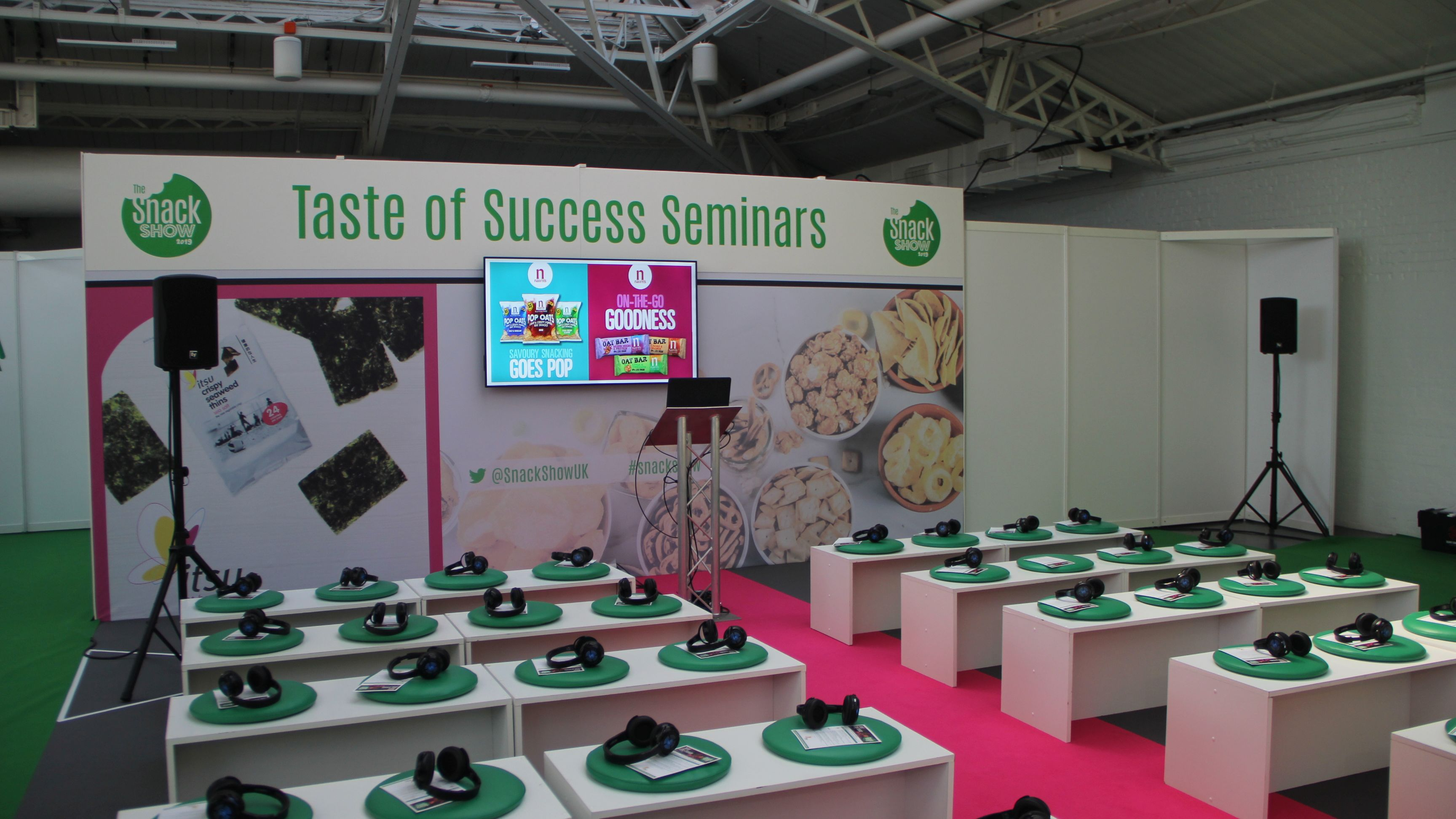 OneBigStar The Snack Show 2019 Exhibition Features & Theatres