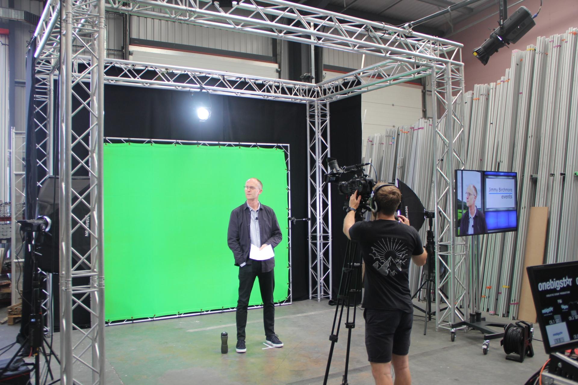 OneBigStar Green Screen Setup