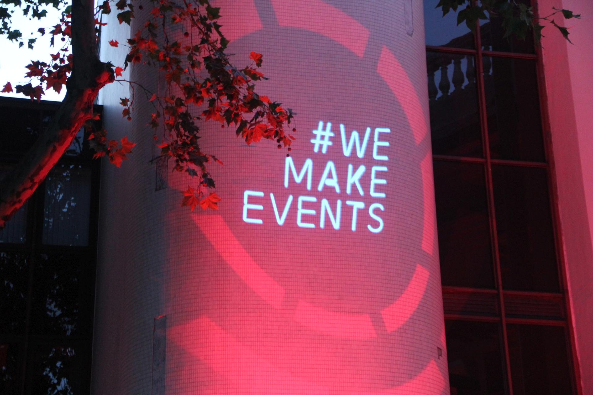 #WE MAKE EVENTS Nottingham