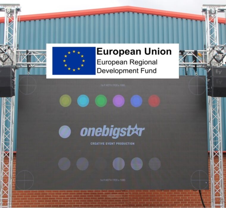 Ground Stacked Modular LED Screen