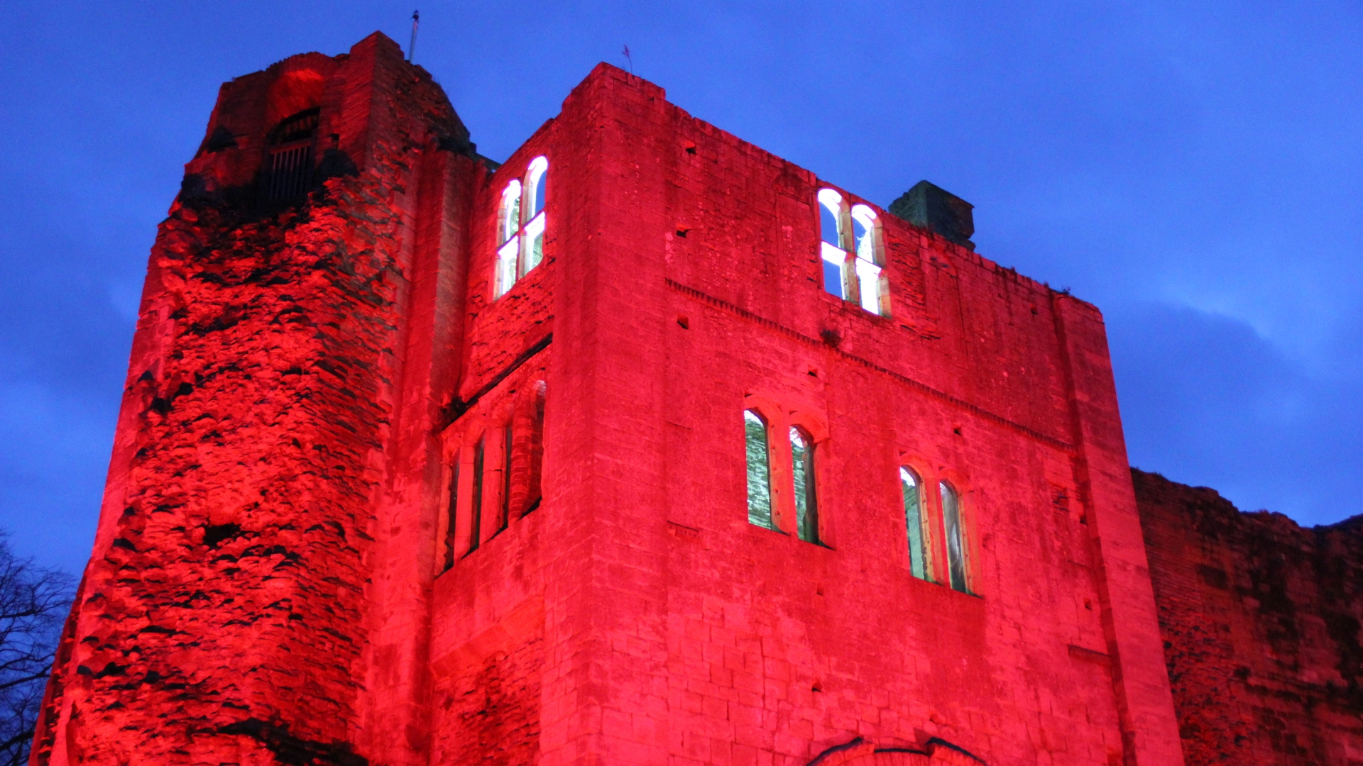Castle lighting